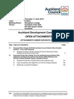 Auckland Development Committee - Agenda Attachment June 15
