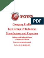 Toyo Profile