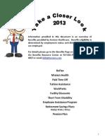 2013 Sentara Benefits