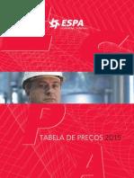 Tabela Espa 2015
