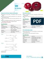 Indicator Light (AH-9717)- Manual Push Button (AH-9717)