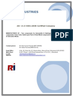 Rahul Industries Company Profile