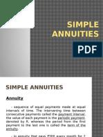 Simple Annuities Final