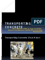 Transporting Concrete