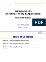 DDR3 800-2133 Derating Theory and Implementation 11ww24.5