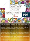 Do you know the planetary uses of Gemstones ?