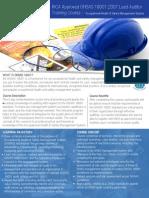 OHSAS 18001 Brochure