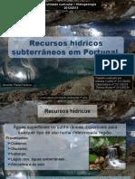 Recursos Hidricos Subterraneos Em Pt.