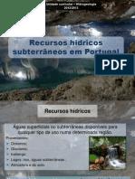 Recursos Hidricos Subterraneos