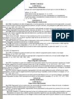 Codul Civil - Despre Comodat