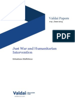 Just War and Humanitarian Intervention