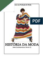 Apostila de História Da Moda2011