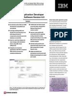 RAD RationalApplicationDeveloper V6 DataSheet