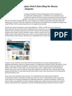 Como Crear Una Pagina Web O bien Blog De Diseno Minimalista Y Muy elegante