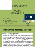 Internal Memory Kelompok 6