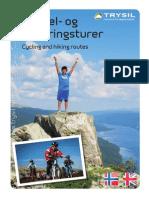 Sykkel og vandring i Trysil 2015