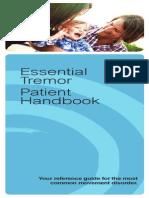 Patient Handbook - Essential Tremor (02142013)
