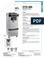 Taylor C723 ADA Soft Serve Freezer