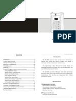 BC 2000 Manual