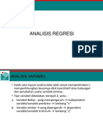 07. Analisis Regresi