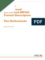 ING Ftp Unstructured Mt940 942 Format Description the Netherlands February 2014 2 Tcm162-45688