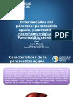 Enfermedad Pancreatica