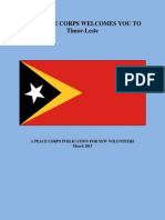 Peace Corps Timor-Leste Welcome Book March 2015