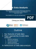 Web Data Analysis