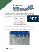 Evaluación de La Relación Óptima de Resina
