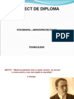 Ftoterapia in Afectiunile Hepatobiliare