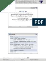 [DE] EIM Aktuelles zum Informationsmanagement