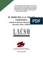 Informe Alternativo LACSO OVV
