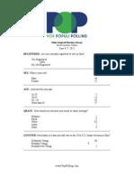 Vox Populi Poll of Ohio Senate Race