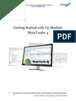 Go Markets MT4 Tutorial E-Book