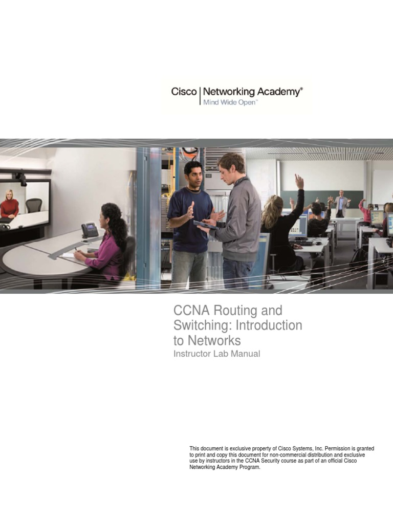 Routing and Switching Intro to Network Lab
