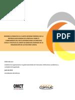 Informe Alternativo PIDCP OMCT COFAVIC