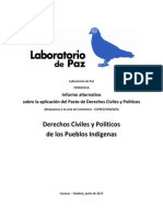 Informe Alternativo PIDCP Laboratorio de Paz