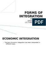 Forms of Integration