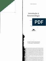 Sokolowski, Robert. Introdução à Fenomenologia (Cap. I e II)