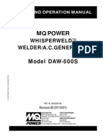 Welder Generators DAW500S Rev 0 Manual DataId 18254 Version 1