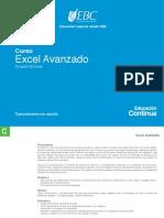 Curso Excel Avanzado EBC