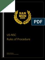USNSC ROP