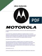 Historia Sobre Motorola