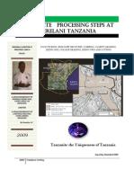 Tanzanite Processing Steps Manual by Eng GilayShamika