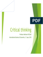5 Critical Thinking