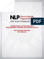 NLP Practitioner Training PDF Manual