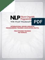 NLP Practitioner Training PDF Manual