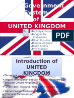 The Government System of United Kingdom