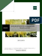 Guia Estudio Grado Parte II-Derecho Penal II (1)