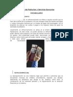 Trabajo de Productos y Servicios Bancarios